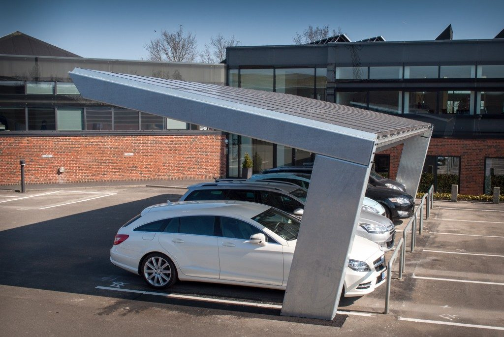 Solisco Solar Carport Charging Infrastructure