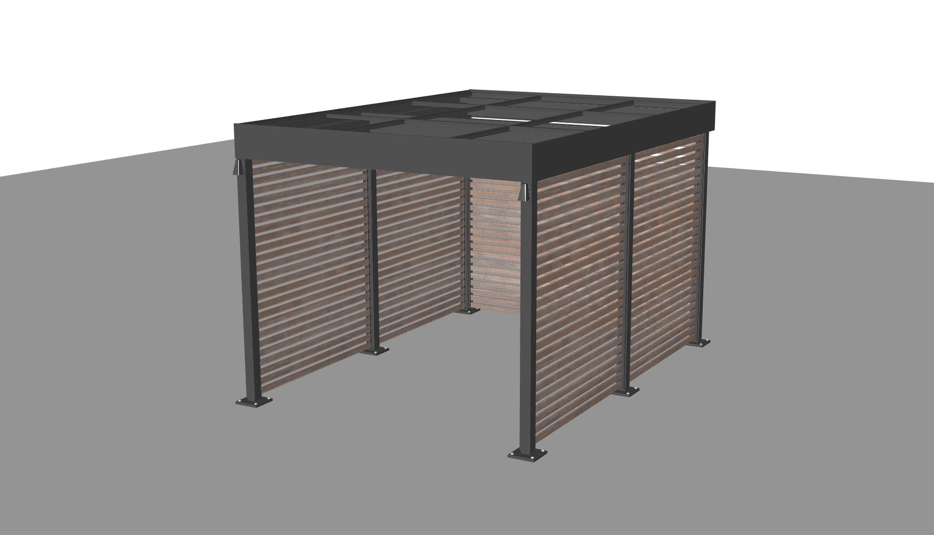 1 Bay - No Equipment Room