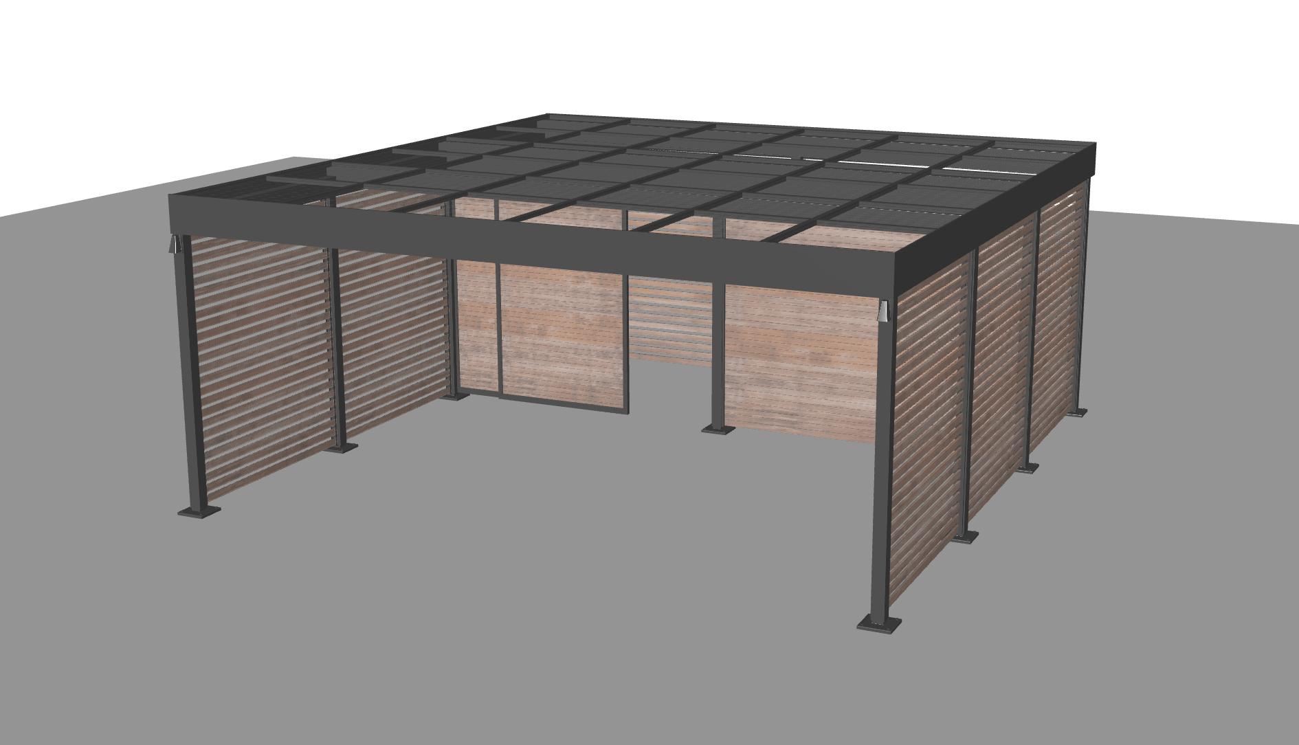 2 Bays - Full Equipment Room