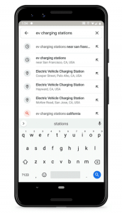 Google Maps: Now You Will Know When an EV Charging Station is in Use