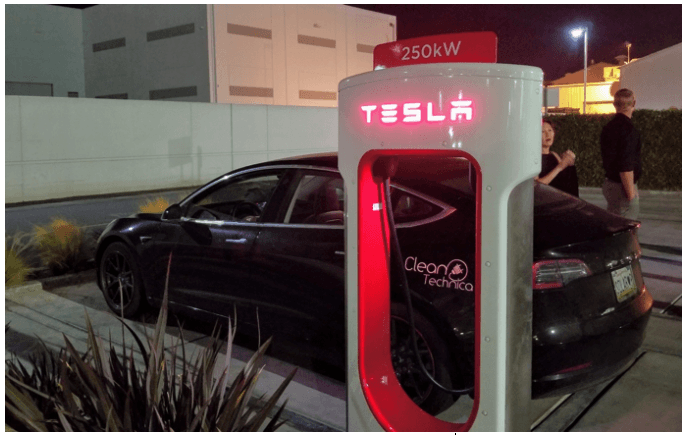 Tesla V3 Supercharger
